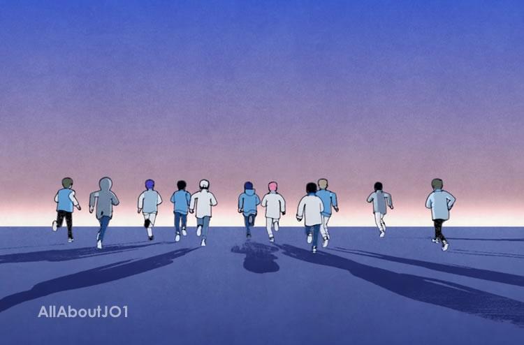 JO1「Running」の映像公開★アニメーション考察