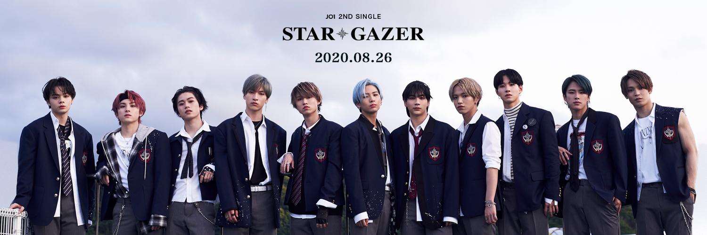 JO1 CD アルバム 曲 『STARGAZER』JO1 ジェイオーワン スターゲイザー